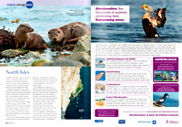 Otters in World Travel Magazine