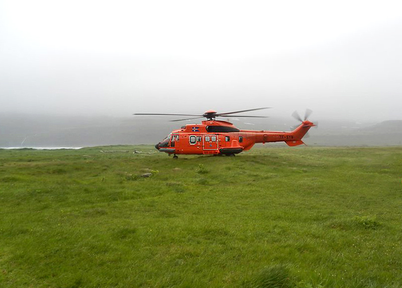 Icelandic Coast Guard Helicopter
