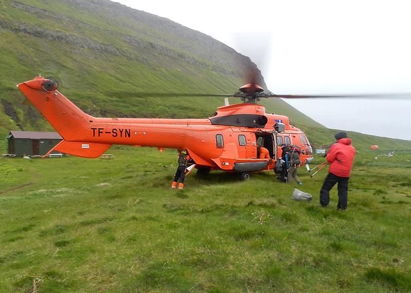 Icelandic Coast Guard Helicopter